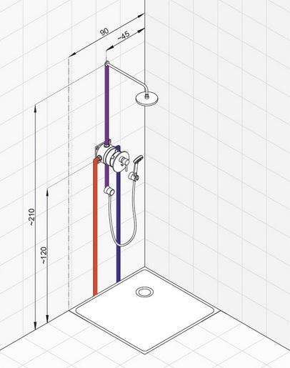 Система тропический душ своими руками