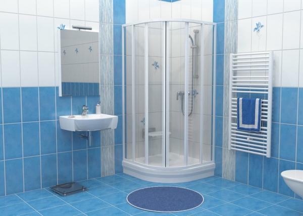 Ванные комнаты с душевыми боксами дизайн